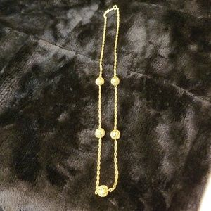 Beautiful a Gold Necklace